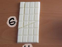 Dolce illusione ottica: il puzzle del cioccolato infinito