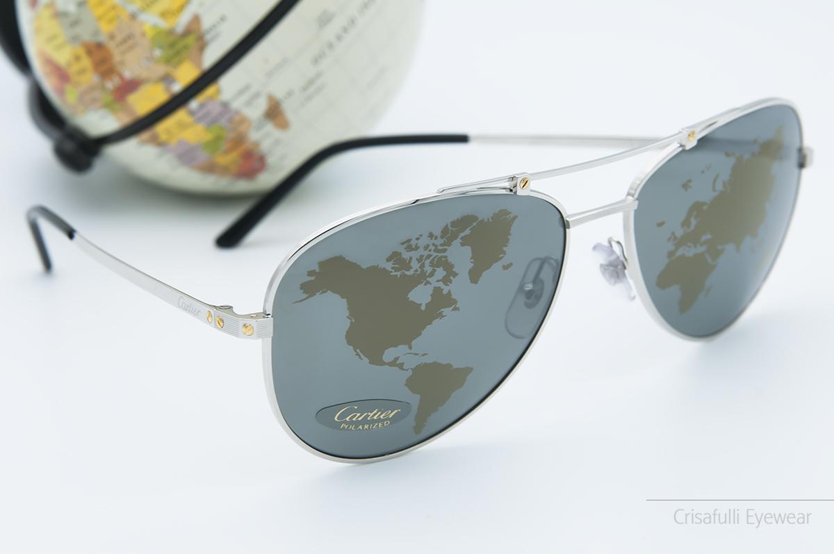 Crisafulli Eyewear - Cartier - ESW00138 Santos Horizon