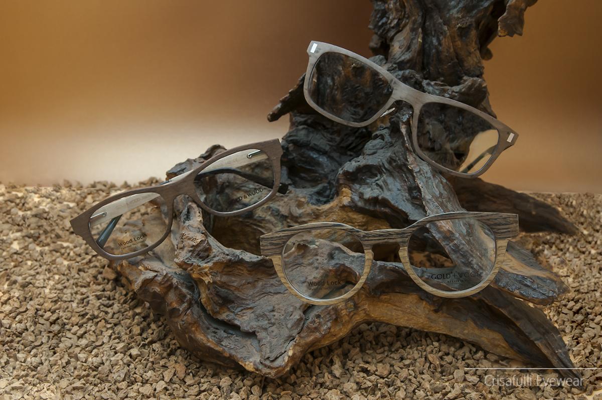 Crisafulli Eyewear - GOLD & WOOD - Occhiali da vista