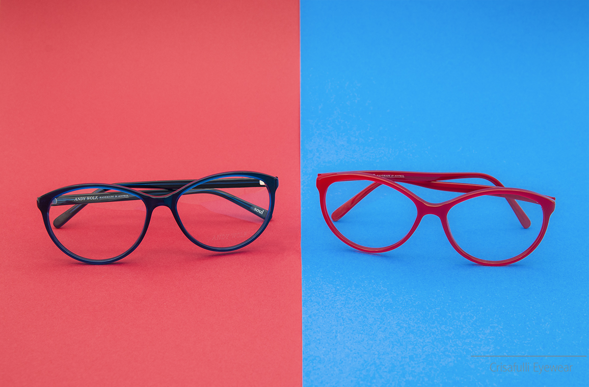 Crisafulli Eyewear - Andy Wolf - Blu Rosso