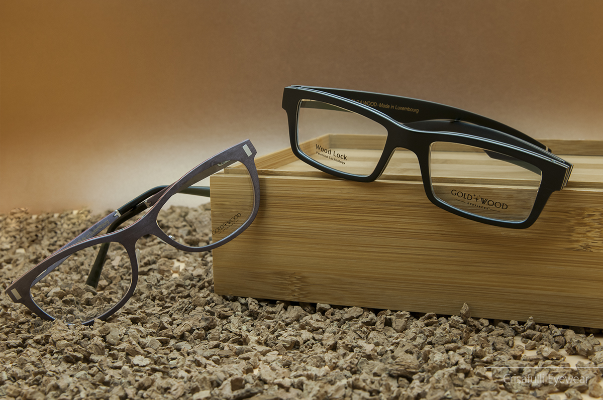 Crisafulli Eyewear - Gold & Wood - Orion 03 e Alpha