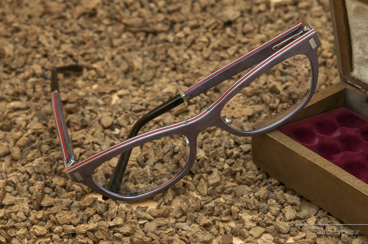 Crisafulli Eyewear - Gold & Wood - Orion 03